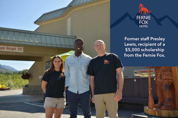 Fernie Fox Hotel scholarship